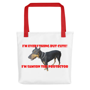 I'M EVERYTHING BUT CUTE..., Tote bag