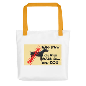 THE FLY ON THE WALL..., Tote bag