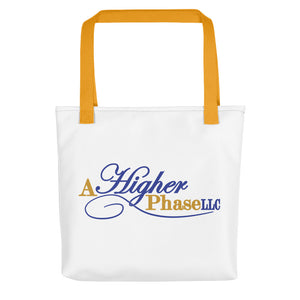 A HIGHER PHASE, LLC,  Tote bag