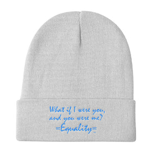 WHAT IF I WERE YOU...,  Knit Beanie