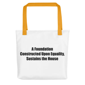 A FOUNDATION..., Tote bag