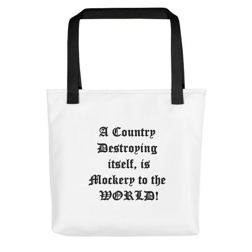 A COUNTRY,...Tote bag