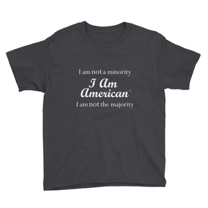I AM AMERICAN, Youth Short Sleeve T-Shirt