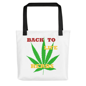 BACK TO LIFE HERBS, Tote bag