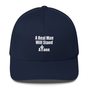 A REAL MAN..., (hands on waist) (Structured Twill Cap