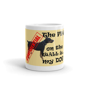 THE FLY ON THE WALL... Mug