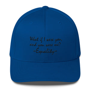 WHAT IF I WERE YOU..., Structured Twill Cap