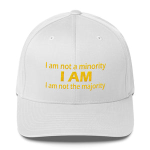 I AM..., (GOLD)  Structured Twill Cap