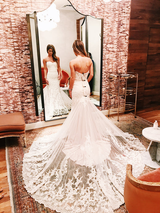 My First Wedding Dress Shopping Experience