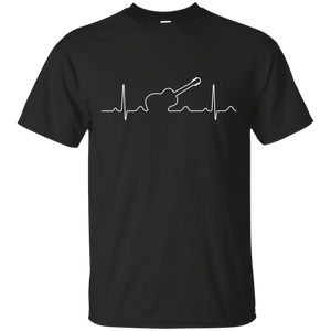 Heartbeat Acoustic Guitar T-Shirt