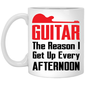 Guitar Afternoon 11 oz. White Mug 2
