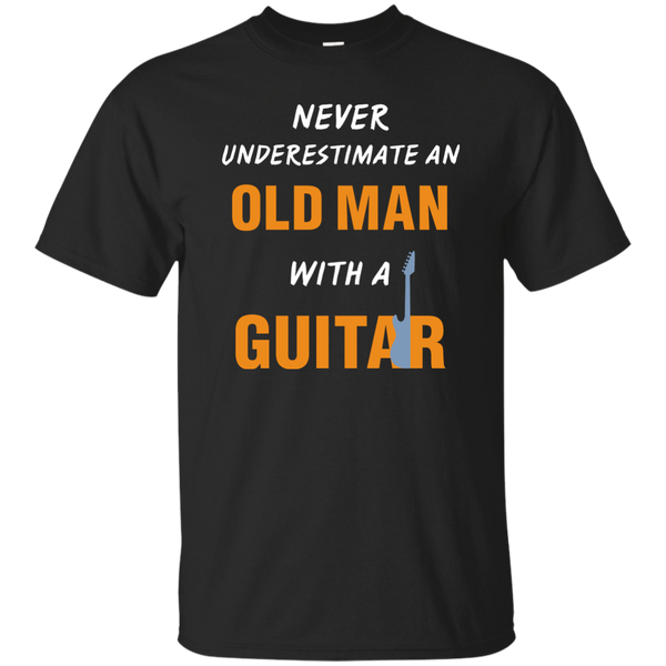 Old Man with Guitar 2 T-Shirt