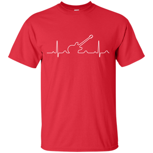 Heartbeat Electric Guitar 2 T-Shirt