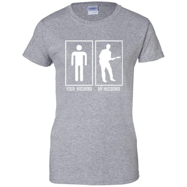 Your Husband My Husband Ladies' T-Shirt