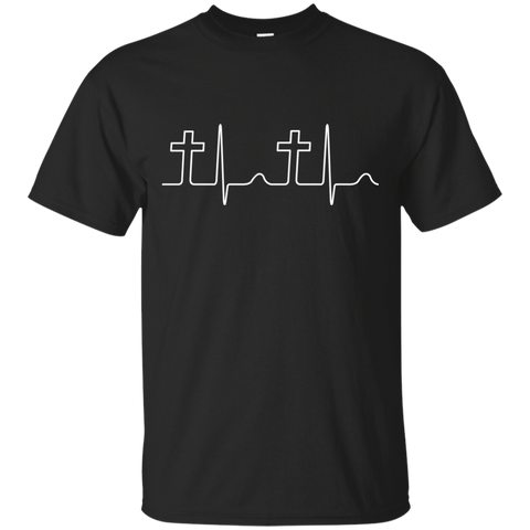Heartbeat Crosses T-Shirt