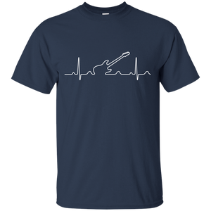 Heartbeat Electric Guitar T-Shirt