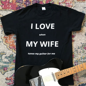 I LOVE (when) MY WIFE (your text)