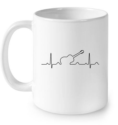Heartbeat Guitar Drinkware