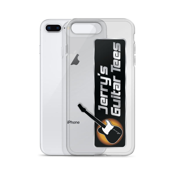 Jerry's Guitar Tees Logo iPhone Case