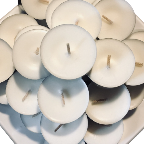Unscented Soy Tealight Candles - Tall Size (longer burning) - By Kerryn