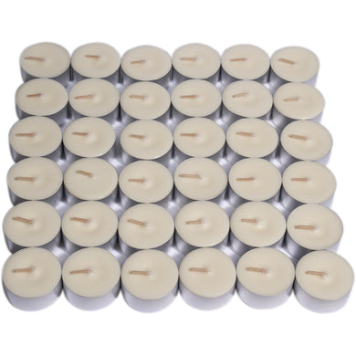 Unscented Soy Tealight Candles - Box of 36 - By Kerryn