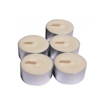 Bamboo and Lime - 5 Scented Soy Tealight Candles - By Kerryn