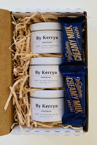 Gift Box - Pick 3 Soy Mini Candles - By Kerryn