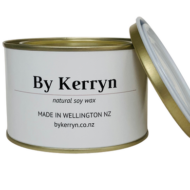 Sandalwood and Vanilla - Soy Candle - 275g - By Kerryn