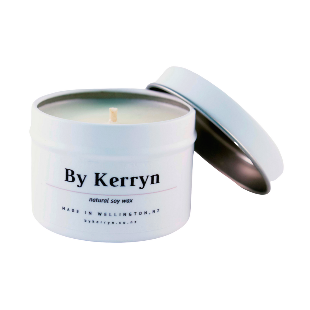 Leather and Oudh - Mini Soy Candle - By Kerryn