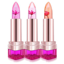 New Fashion Jelly Flower Lipstick. Color Changing Long Lasting Lipstic