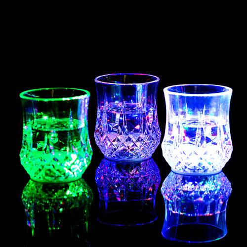LED Light Drink Glass flashing Light Glass.