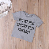 Cute Newborn Baby Boy Romper Bodysuit Big Brother T-shirt Tops Outfit Family Set