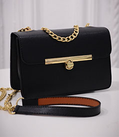 New Chain Strap Women Bag PU Leather Women Messenger Bag / Cross body Designer Ladies Shoulder Bag