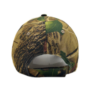 Spring / Summer Camouflage Baseball Cap Hunting / Fishing