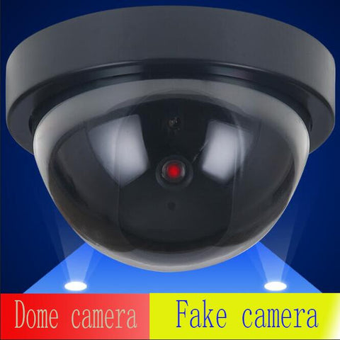 FAKE Dome camera Dummy CCTV Camera simulation Flash Blinking LED Fake Camera Security Simulated video Surveillance