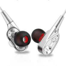 V3 Wired earphone High bass dual drive stereo In-Ear Earphones With Microphone Computer earbuds