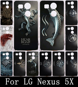 Phone Case For LG Nexus 5X Case Cover Soft TPU Painting Back Shell Housing