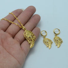 Allah Jewelry Sets Pendant, Necklace and Earrings Muslims Gold Color Islamic Arab Jewelry