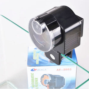 Digital LCD Aquarium Tank Automatic Fish Feeder with Timer