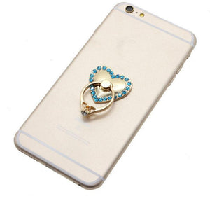 Cell Phone Grip Holder Stand Finger Ring Metal / Multi-function Ring Holder 360 degree Rotation.