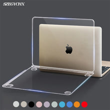 Crystal Hard Laptop Case For MacBook Pro 16 A2141 2019 Touch ID A1932 Cover For Macbook Air 13 A1466 A1369 Pro Retina 12 13 15 1 2