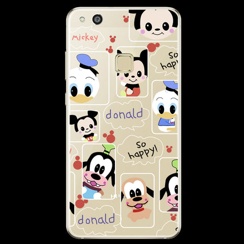 Phone case For Huawei P8 P9 P10 Lite 2017 Case Back cover