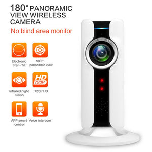 New 720P WIFI 360 Degrees Panoramic Fisheye Network Cam. Security Camera with Night Vision 1280*720P CMOS
