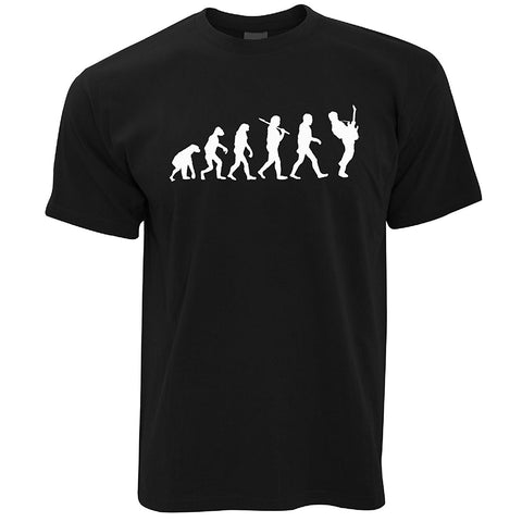 Evolution of A Guitarist Music, Rock Guitar Musician Band T Shirt
