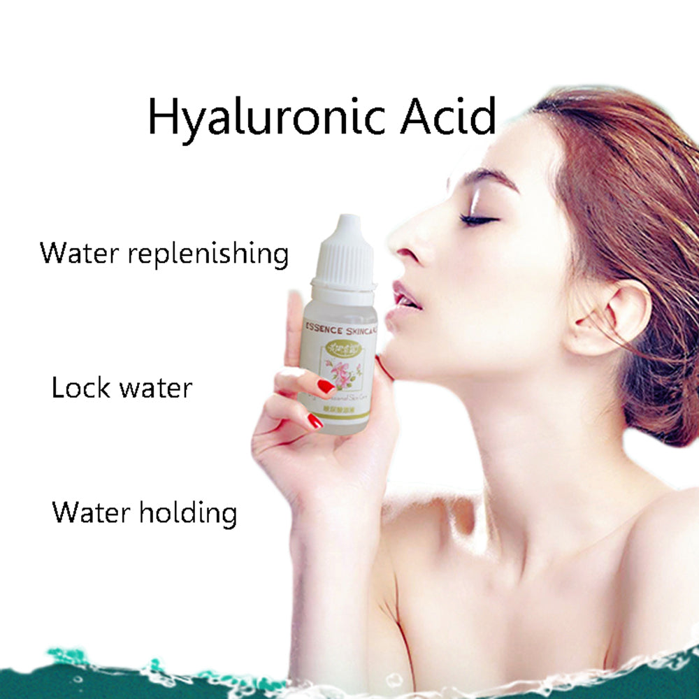 Face Care Hyaluronic Acid Liquid Anti Wrinkle Anti Aging Pure Essence Whitening Moisturizing Acne Removal Gel 10ml