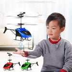 Flying Mini RC Infrared Induction Helicopter 2CH Model Aircraft RC Helicopter Anti-Impact