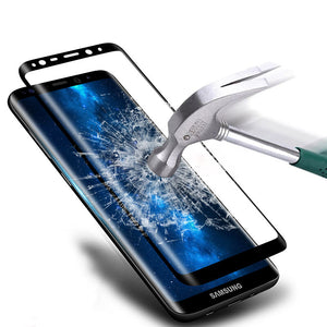 "For Samsung Galaxy Note 8 6.3"" 3D Curved Full Covered Real Tempered Glass Screen Protector Film 9H 3D Glass For Samsung Note 8"