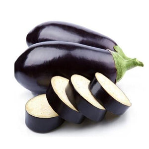 Round Vegetable eggplant seeds