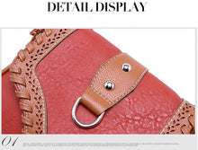 New Fashion Women Bag Designer Leather Handbag Women Messenger Bag High Quality Ladies Shoulder Bag