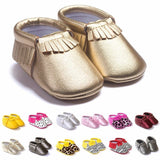 Tassels 26-Color PU Leather Baby Shoes Baby Moccasins Newborn Shoes Soft Infants Crib Shoes Sneakers First Walker.